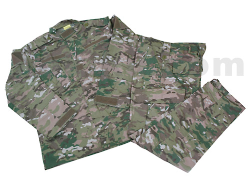 BDU Multicam Import