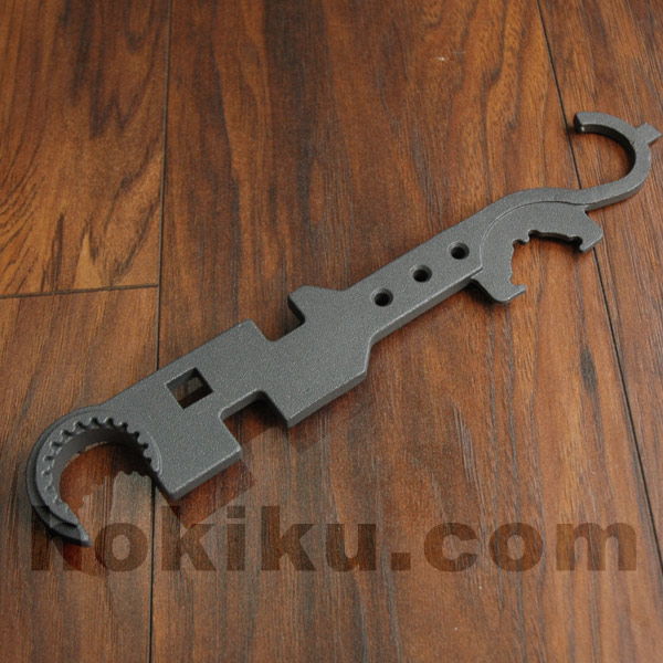 Steel Multi Tool Delta Ring Wrench for M4 / M16 Series