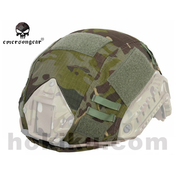 Emerson FAST Helmet Cover - Multicam Black / Tropic / Arid