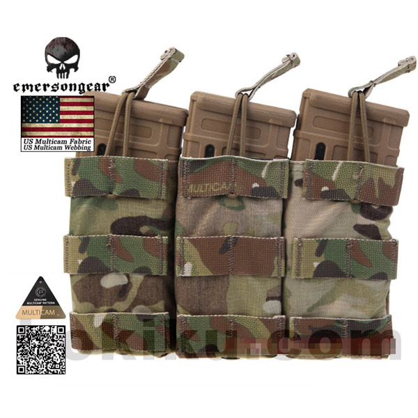 Emerson Modular Open Top Magazine M4 Pouch Multicam