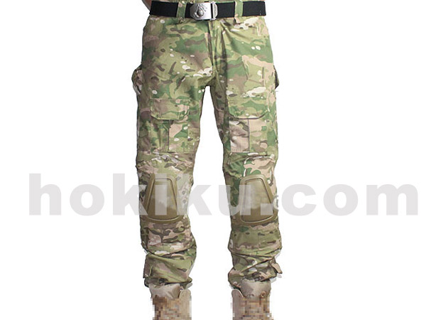 Pants Tactical with Pads - Multicam
