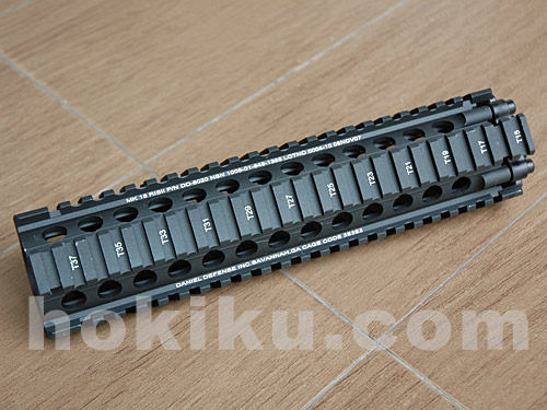 MK-18 Free Float Handguard Rail 9inch - Black