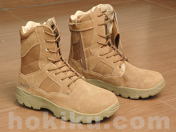 Tactical Shoes Infantry Milspec Brown